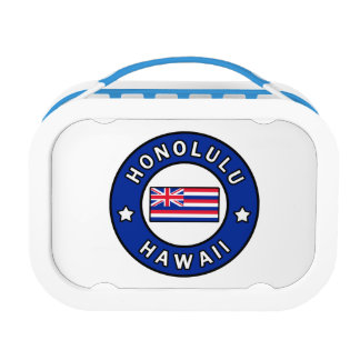 Honolulu Hawaii Lunch Box