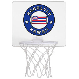Honolulu Hawaii Mini Basketball Hoop