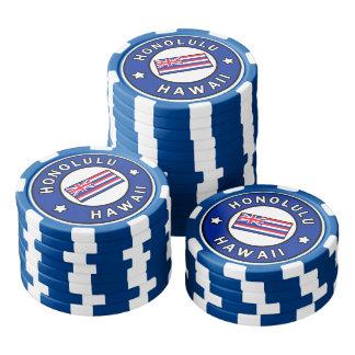 Honolulu Hawaii Poker Chips
