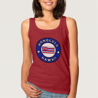 Honolulu Hawaii Tank Top