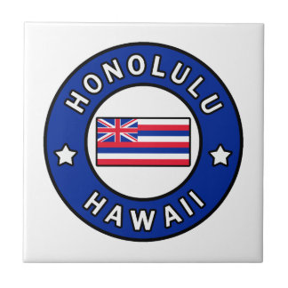 Honolulu Hawaii Tile