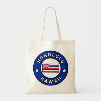 Honolulu Hawaii Tote Bag