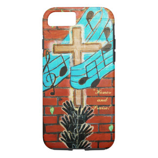 """Honor and Praise!"" Apple iPhone 7, Tough Case"