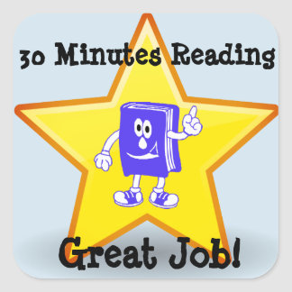 Honor Great Reading Time Sticker