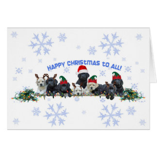 Honor Litter Holiday Elves Card