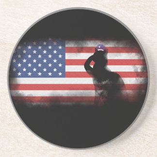 Honor Our Heroes On Memorial Day Coaster