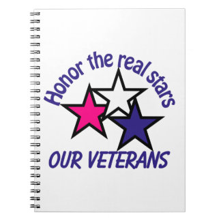 Honor Our Veterans Spiral Notebook
