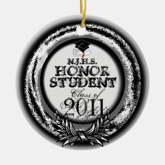 Honor Student Award Class Of 2011 Ornament Silver