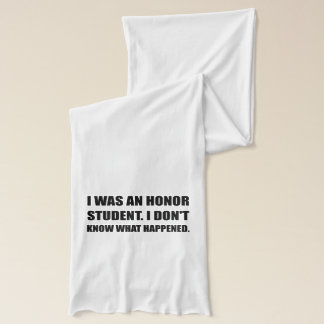 Honor Student What Happened Scarf