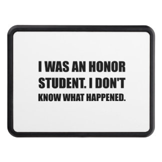 Honor Student What Happened Trailer Hitch Cover