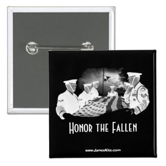 Honor the Fallen 2 Inch Square Button