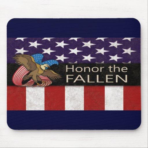 Honor the Fallen Military Mousepad