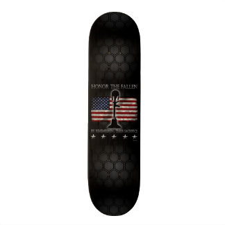 Honor The Fallen Skate Board Deck