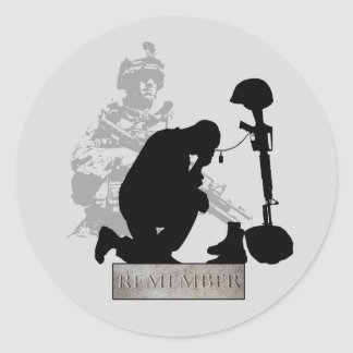 Honor Them Remember Them Veterans Day Stickers