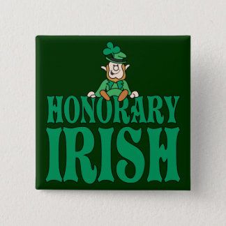 Honorary Irish 2 Inch Square Button