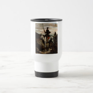 Honore Daumier - Don Quixote in the Mountains Travel Mug
