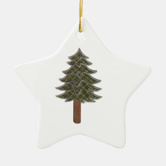 HONORED AND RESPECTED CERAMIC STAR ORNAMENT
