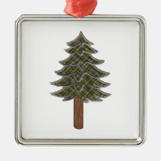 HONORED AND RESPECTED Silver-Colored SQUARE ORNAMENT