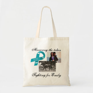 Honoring our taken-Emily McGee Bag... Tote Bag