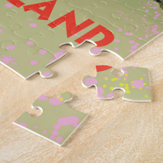 Honshu Island,Japan travel poster Jigsaw Puzzle