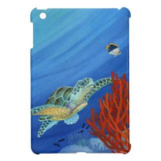 Honu and Black Coral iPad Mini Cases