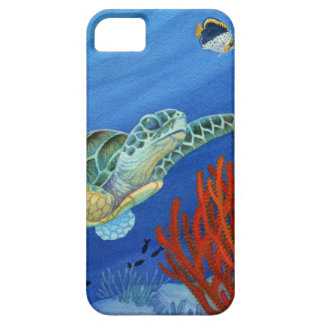 Honu and Black Coral iPhone 5 Covers