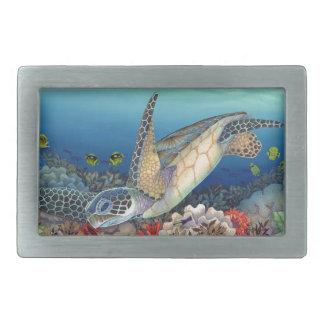 Honu (Green Sea Turtle) Belt Buckle