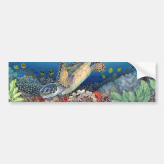 Honu (Green Sea Turtle) Bumper Sticker