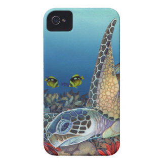 Honu (Green Sea Turtle) iPhone 4 Case-Mate Case