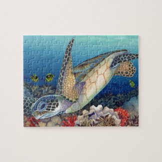 Honu (Green Sea Turtle) Jigsaw Puzzle