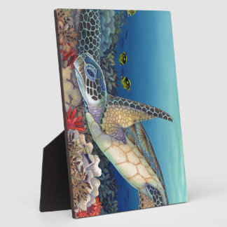 Honu (Green Sea Turtle) Plaque