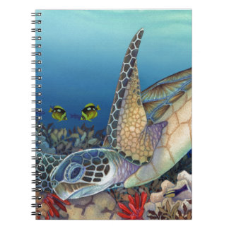 Honu (Green Sea Turtle) Spiral Notebook