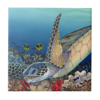 Honu (Green Sea Turtle) Tile