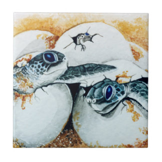Honu Hatchlings Tile