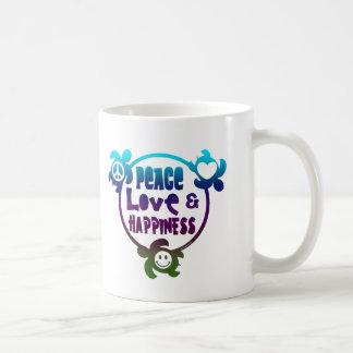 Honu Peace Love Happiness Coffee Mug