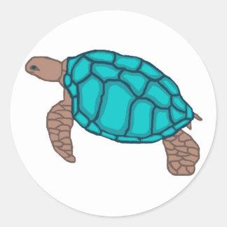 Honu Pride sea turtle stickers
