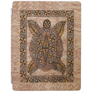 Honu Primitive Hawaiian Tattoo Tapa iPad Cover