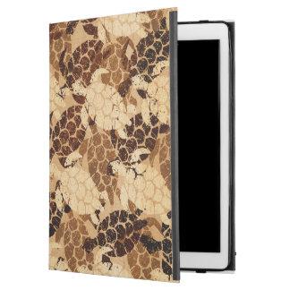 "Honu Sea Turtle Hawaiian Aloha  Faux Wood iPad Pro 12.9"" Case"