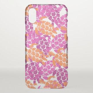 Honu Sea Turtle Hawaiian Aloha - Pink iPhone X Case