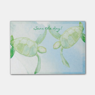 Honu Turtle Post-It Notes