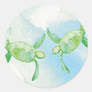 Honu Turtle Sticker