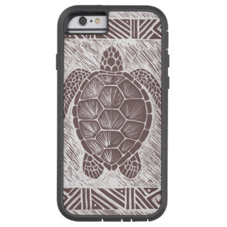honu 'ulu 'ulu [brown sea turtle] Phone Case