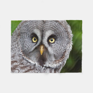 Hoo are You? Fleece Blanket