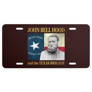 Hood and the Texas Brigade License Plate