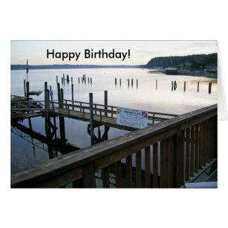 Hood Canal Happy Birthday! Card
