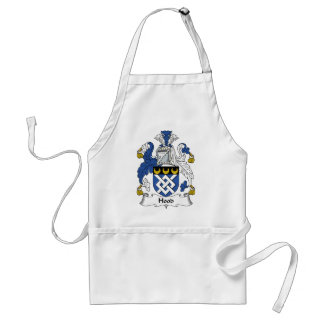 Hood Family Crest Standard Apron