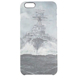 Hood heads for Bismarck 23rdMay 1941. 2014 Clear iPhone 6 Plus Case