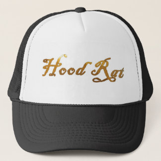 hood rat 2k10 2point oh trucker hat