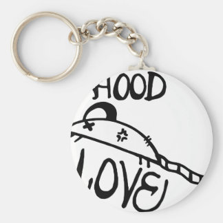 Hood Rat Love Keychain