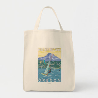 Hood River, ORWind Surfers & Kite Boarders Tote Bag